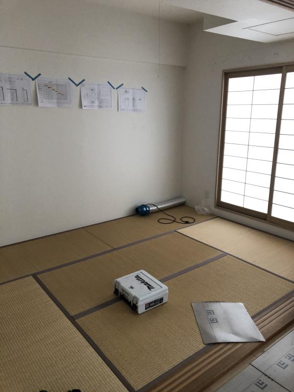 1施工前和室